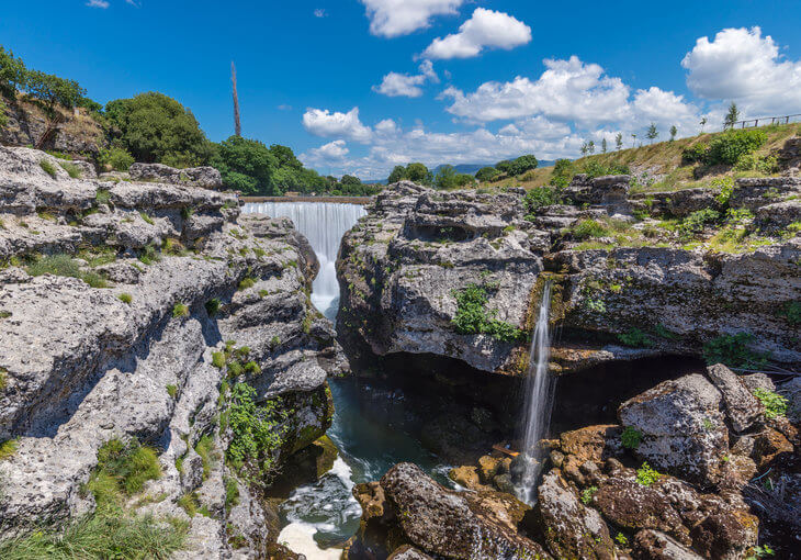 Cijevna Falls is one of the best-kept secrets in Podgorica, Montenegro