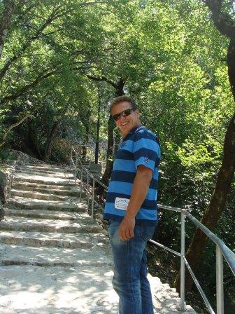 Path to Ostrog monastery