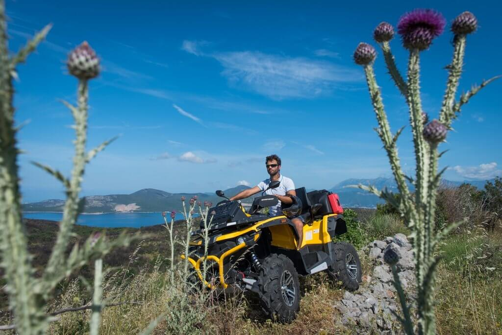 An ATV tour in Montenegro is a thrilling way to see the country's wild beauty.