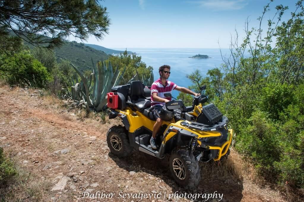 ATV tours in Montenegro: Lustica Fortress Safari