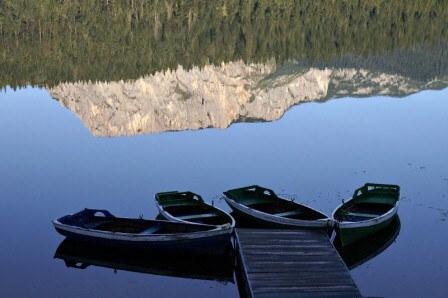 The Black Lake in Zabljak