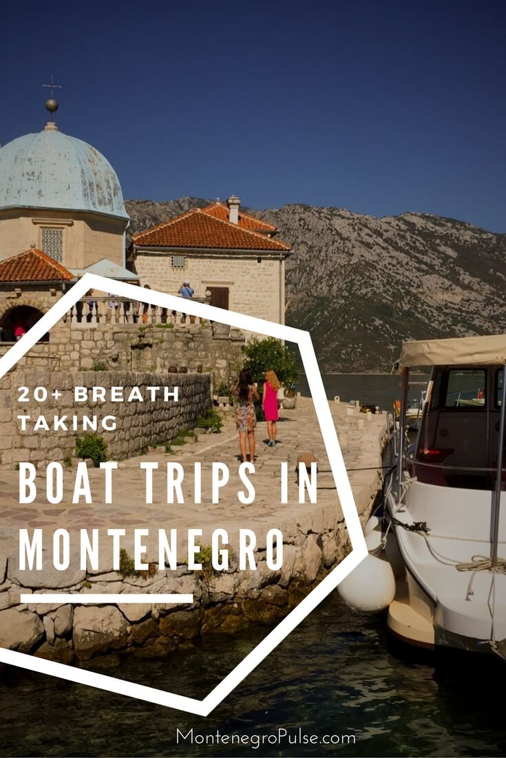 Boat trips in Montenegro are the most popular tourist activity. Find everything from an hour tour to a full day trip.