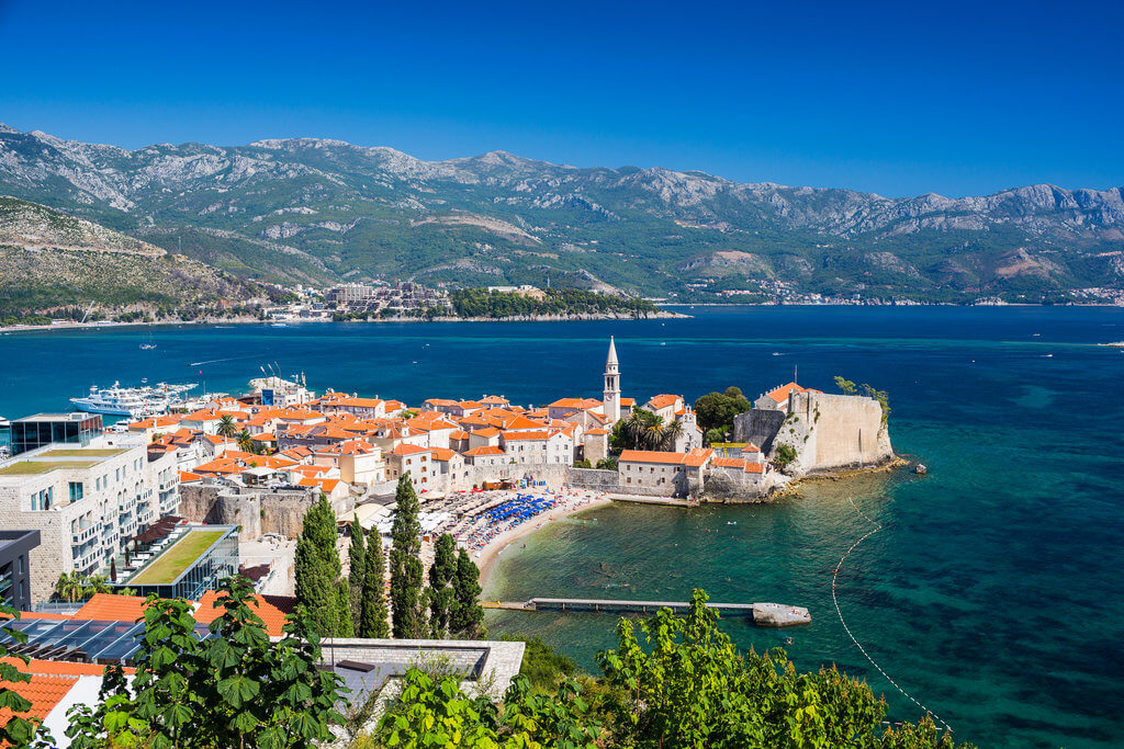 A 2,500 year-old town, glittering sea, beaches galore, endless fun and parties til dawn... you'll find it all in Budva, Montenegro's top seaside holiday resort.