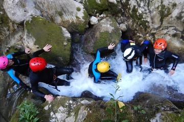Get an adrenaline fix on your holiday in Montenegro when you go canyoning in Nevidio Canyon