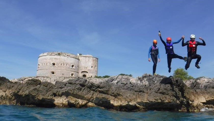 Coasteering on the Montenegro coast is a fantastic adventure!