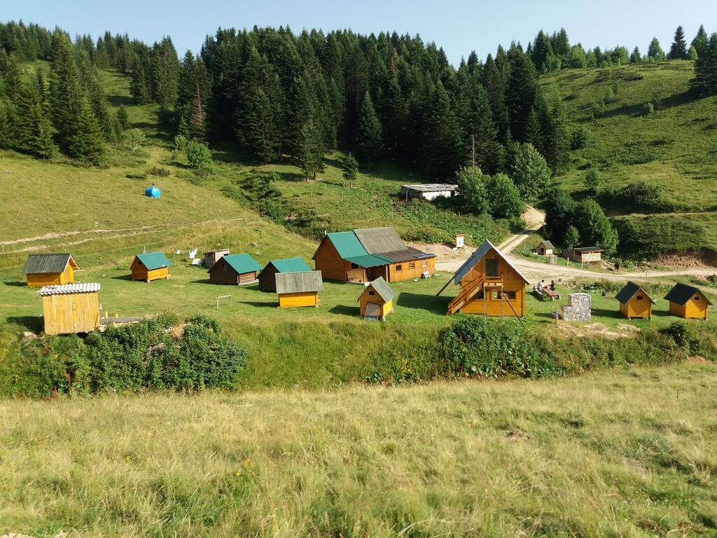 Hostels in Montenegro - Etno selos make a good alternative where no hostels are available.