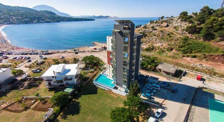 Hotel Porto Sole, one of the top 10 hotels in Bar, Montenegro.