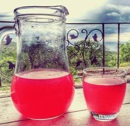 Pomegranate juice is a Montenegrin specialty