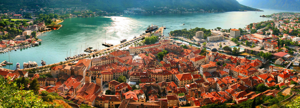 Kotor is a gorgeous spot in the Bay of Kotor and home to some of the best hostels in Montenegro
