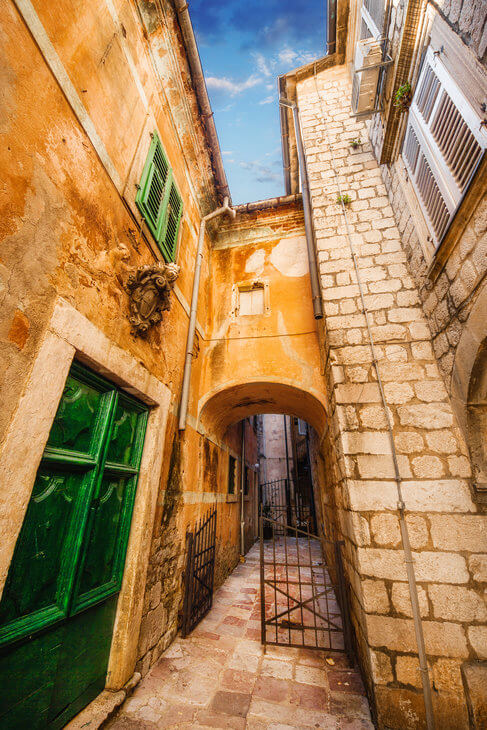 Be transported back in time in Kotor's Venetian alleyways on a tour to Montenegro from Dubrovnik