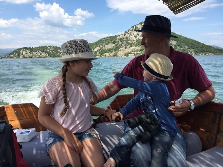 Lake Skadar boat cruises - the only way is on a traditional cun boat with a local guide.