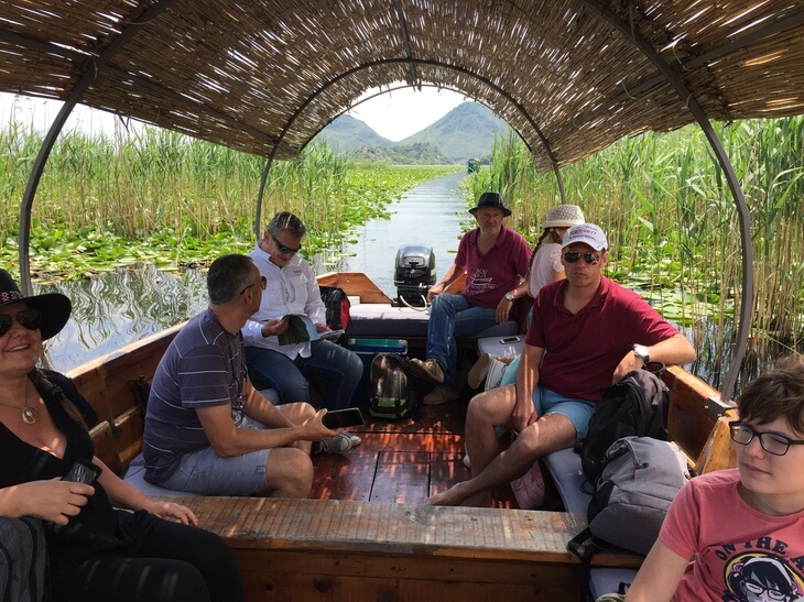 Lake Skadar boat cruises - take a cun with a local guide for an intimate and relaxed experience.