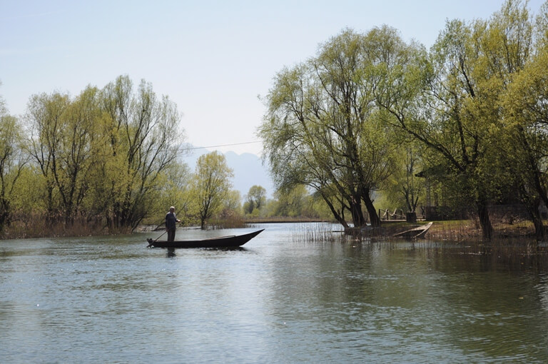 Lake Skadar fisherman