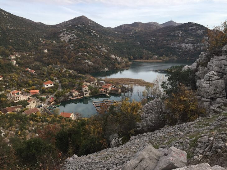 Lake Skadar's banks are dotted with tiny villages that make for wonderful escapes and day trips. This is Karuc where you can feed the ducks and explore old stone ruins.