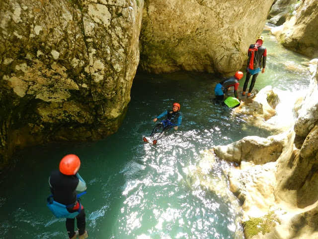 Canyoning in Nevidio Canyon as part of the 2 Day Adrenaline Break which also includes rafting in Tara Canyon.