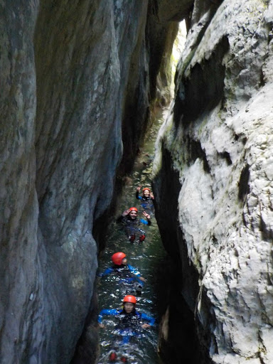 Canyoning in Nevidio Canyon in Montenegro