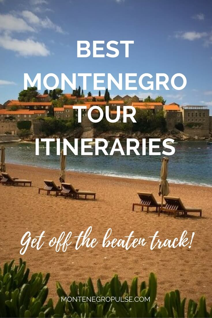The best Montenegro itineraries to get you off the beaten track and exploring Montenegro like a local!