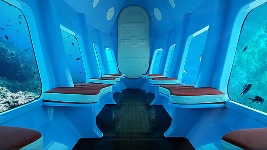 Dubrovnik Glass Bottom Submarine
