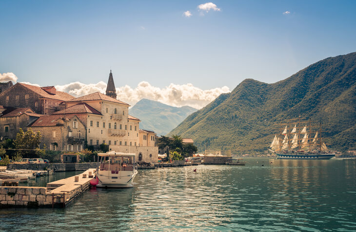 Visit Montenegro to see idyllic seaside villages like Perast, explore Europe's deepest canyon and soak up the sunshine on the beach.