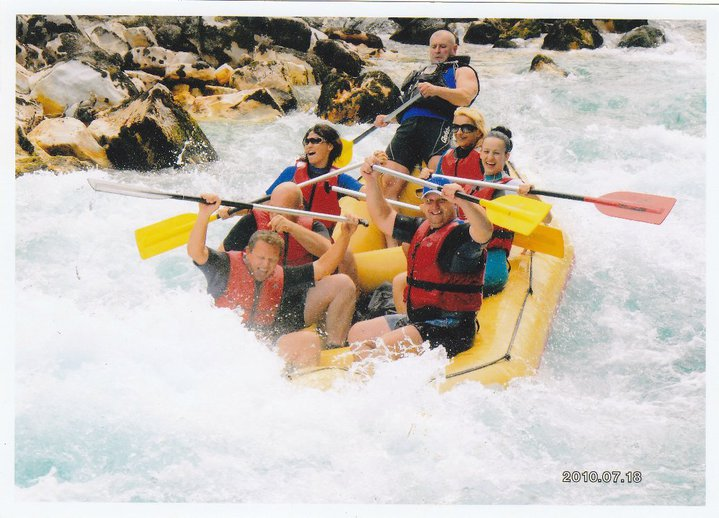 Exciting rapids on the Tara River