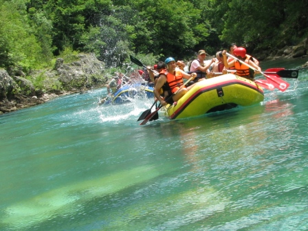 Tara Canyon rafting