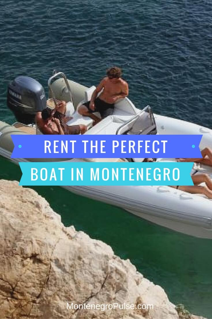 Rent a boat in Montenegro