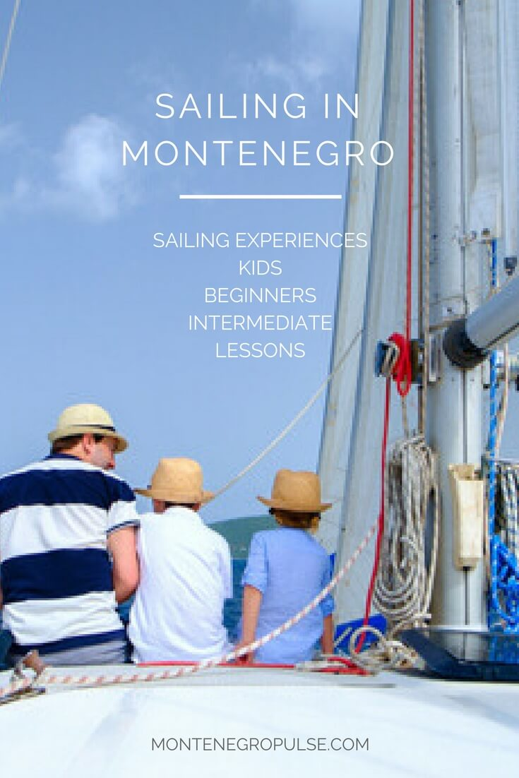 Sailing in Montenegro - book sailing lessons and experiences.