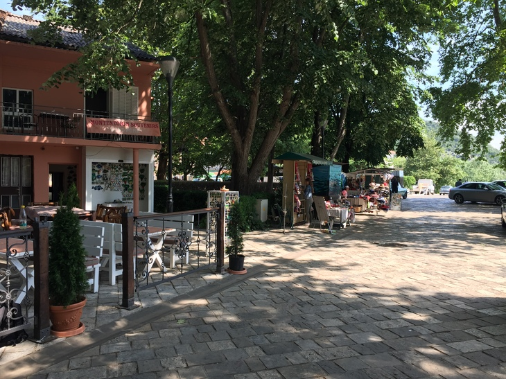 Virpazar, an idyllic village on the banks of Lake Skadar. Start here for boat tours and kayak rental