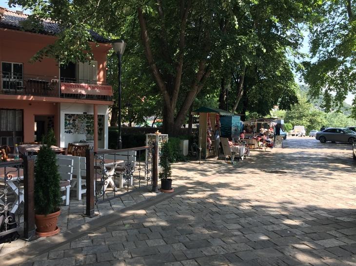 Virpazar, an idyllic village on the banks of Lake Skadar. Start here for boat tours and kayak rental