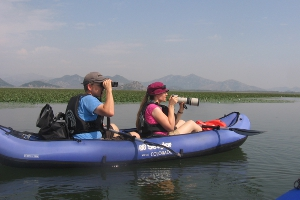 Kayaking is one of the many things to do at Lake Skadar in Montenegro