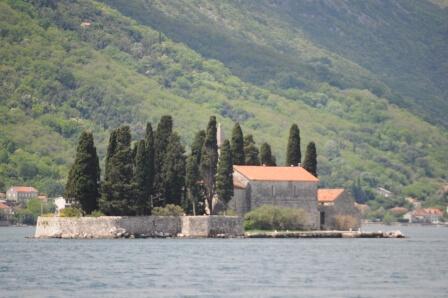 St George Island and monastery