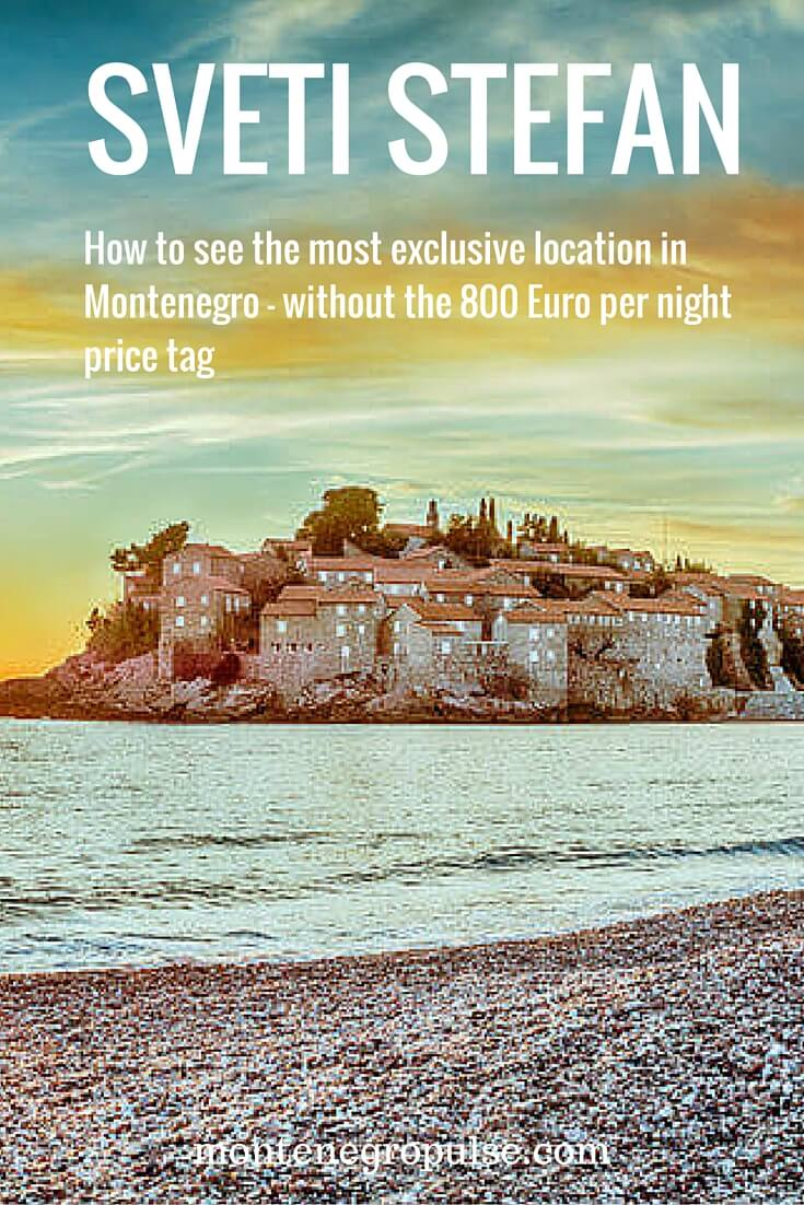 Discover Sveti Stefan. All your questions answered - how can you see it, how to get there and where to stay.