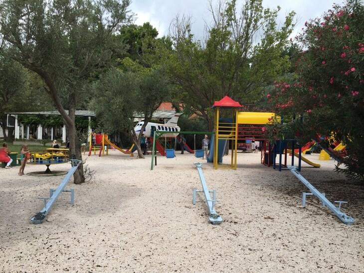 Sveti Stefan Playground  by Olive Restaurant.