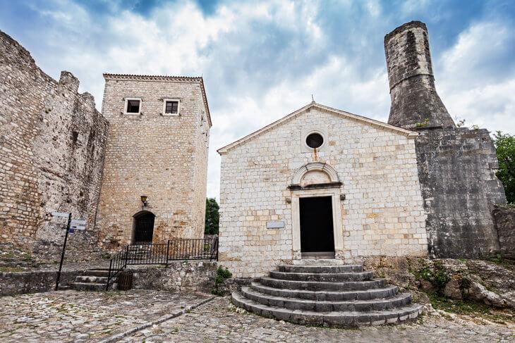 Town Museum in Ulcinj Old Town, Montenegro.
