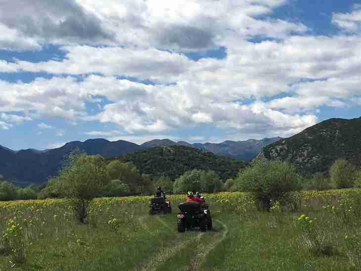 ATV tours in Montenegro - stunning landscapes and unique experiences.