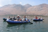 Kayaking on Skadar Lake