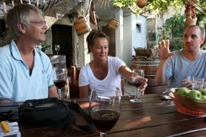 Skadar lake wine tasting