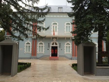 Cetinje Blue Palace