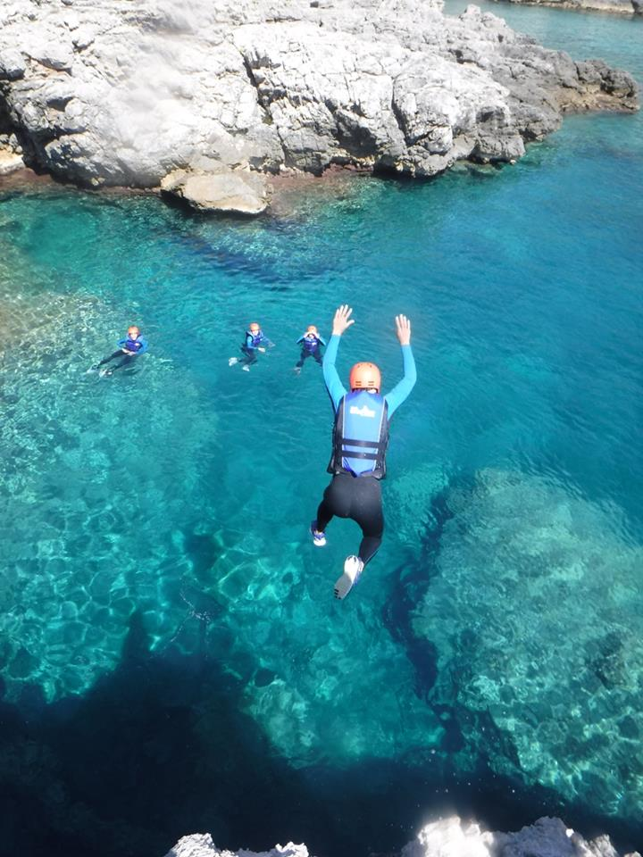 Coasteering in Montenegro is a fun and fast-paced adventure on the Montenegro coast.