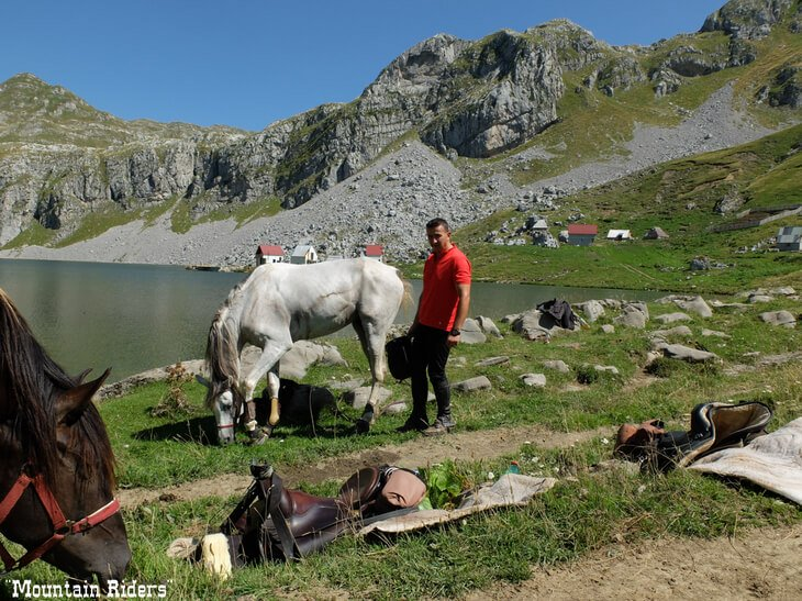 Horse riding - one of the off-the-beaten-track things to do in Montenegro.