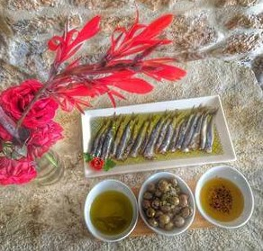 Salty fish is a Montenegrin specialty you can try on the Adriatic coast