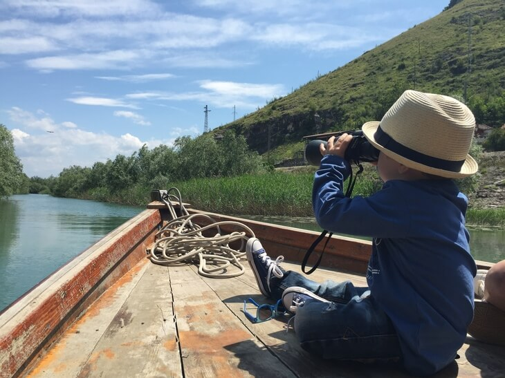Lake Skadar boat cruises - bring binoculars to get the best out of your trip.