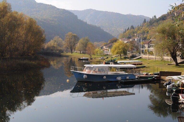 Lake Skadar Rijeka Crnojevica
