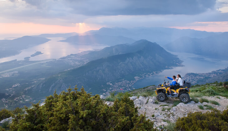 ATV tours, one of the many things to do in Montenegro.