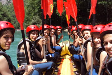 The 7 day self-drive Discover Montenegro tour takes you Montenegro's best spots, like rafting in the Tara Canyon