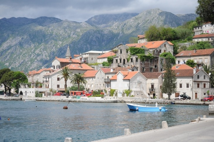 Perast is a must-see in the bay of Kotor, Montenegro