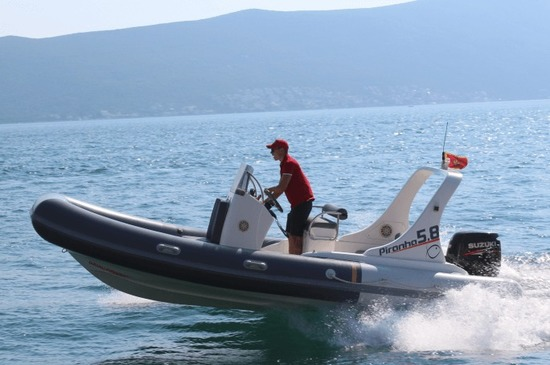 Kotor Excursions: hire your own speedboat in Montenegro.